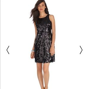 WHBM Sequence Party Dress